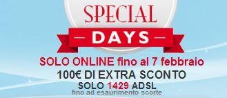 offerta special days telecom