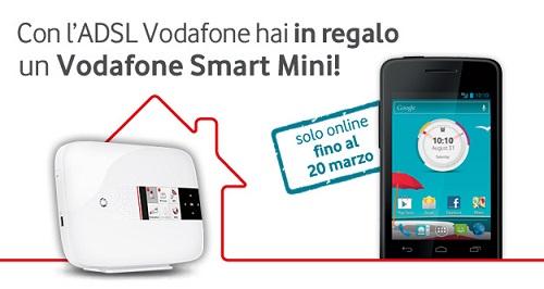 Offerta Vodafone ADSL + Smartphone