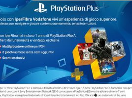 playstation plus in regalo