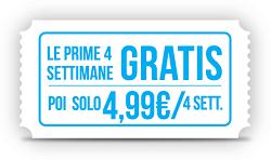 Timvision a 5 euro